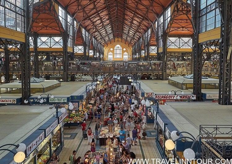 Central Market Hall Budapest 1