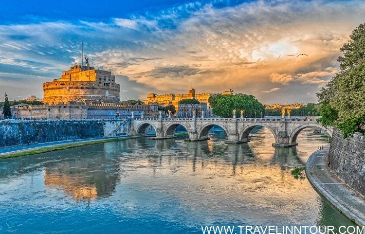 Rome Bridge Of Angels - Rome Travel Guide