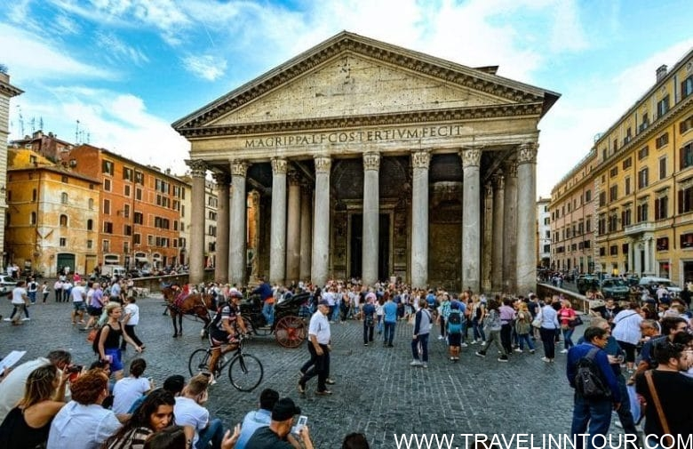 Rome Travel Guide-Rome Pantheon Piazza