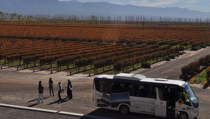 Wine Tourism mendoza hop on hop off wine tour in mendoza 674x381 - Wine Tourism - Mendoza, Rivers of Wine in Argentina
