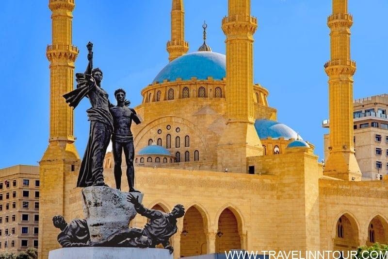 Lebanon Travel Guide Mohammad Al Amin Mosque Lebanon e1546963495684 - Lebanon Travel Guide - A Week Long Road Trip
