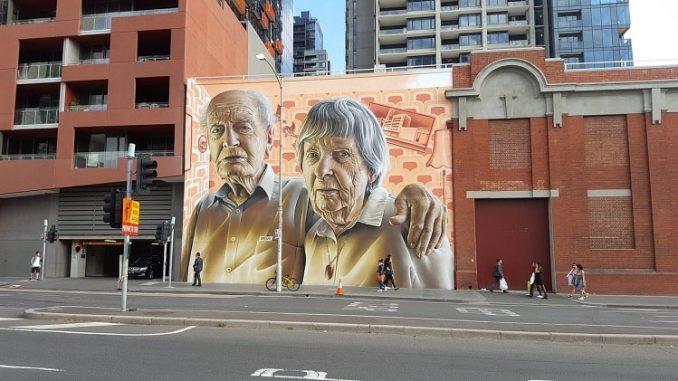 Street Art Melbourne Australia 1