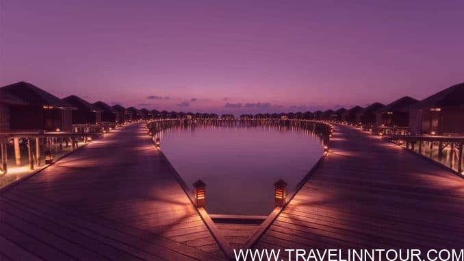 Sunset at Lily Beach Resort Spa – Maldives e1548822441988 - Lily Beach Resort & Spa, Maldives