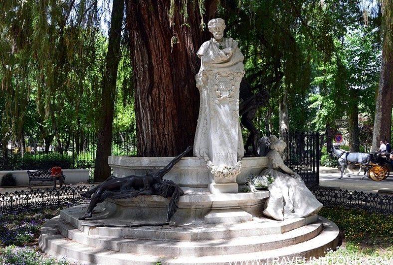 Maria Luisa Park Glorieta de Becquer Sevilla