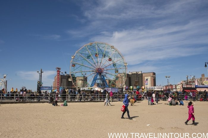 Coney Island Beach e1583439586901 - A Family Holiday in New York