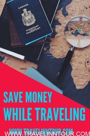 How to save money while traveling-Pin