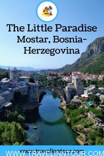 The Little Paradise Mostar Bosnia Herzegovina 1 - Mostar, Bosnia-Herzegovina-The Little Paradise