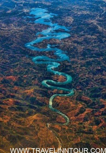 Blue Dragon River e1566231502468 - The Blue Dragon River, Portugal - Barragem De Odeleite