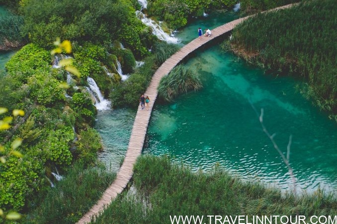 Plitvice Lakes Aerial View Croatia e1565033327313 - 10 Best Places To Visit Once In A Lifetime