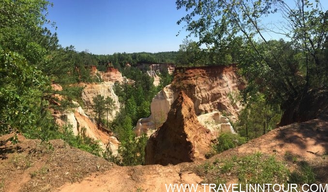 Providence Canyon Canyon Georgia e1565431585335 - 10 Best Places to Visit in Georgia, USA
