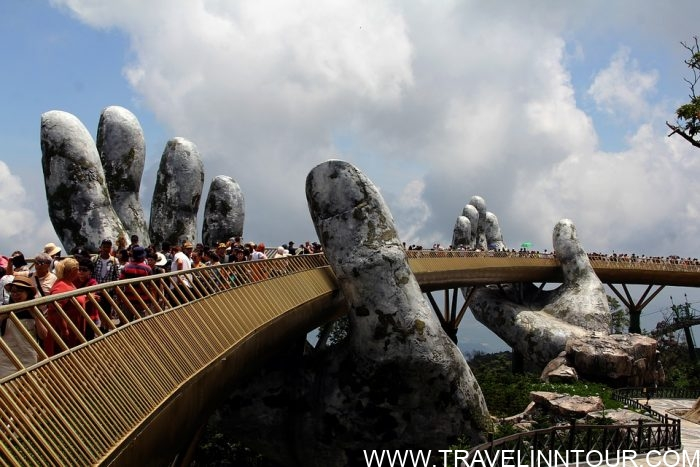 Danang Golden Bridge Hand Vietnam e1576808852687 - 19 Best Vacation Destinations With Family Around The World