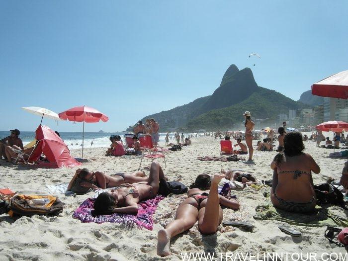 Leblon Beach in Rio