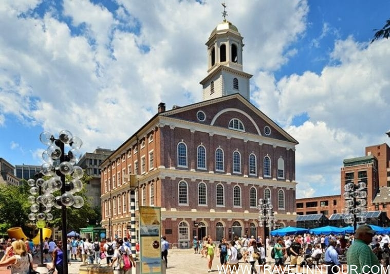 Faneuil Hall Marketplace e1584419589398 - Boston Travel Guide