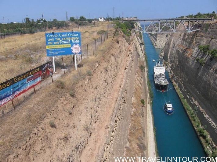 Corinth Canal The Ship Passage - Athens Travel Guide, Simple Guidance For You