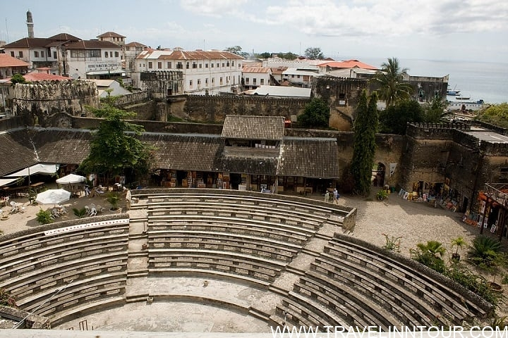 Thr Arab Fort Stone Town - Stone Town, Intrigues Of The Zanzibar