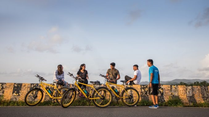 Cycling at Miramar