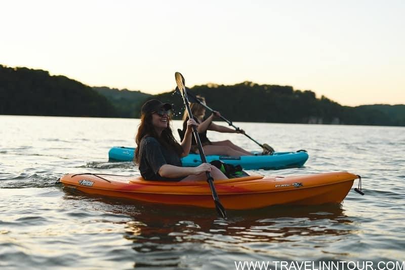 kayaking Lake Nacimiento