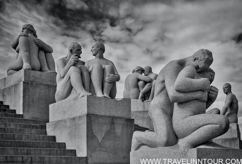 Vigeland Sculpture Park Oslo 1