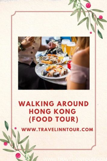 Walking Around Hong Kong Food Tour