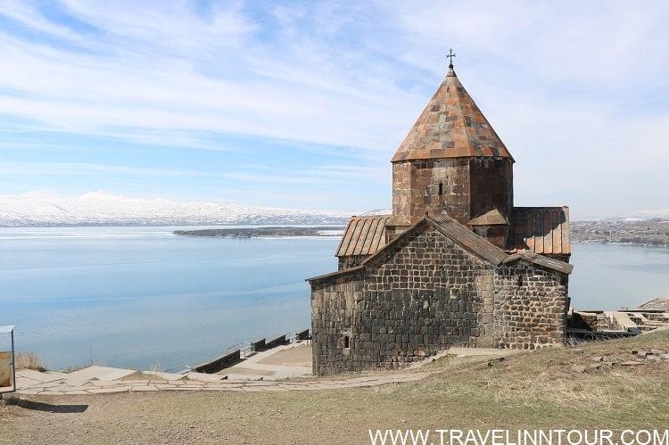 Armenia Sevan Lake Mountains Church