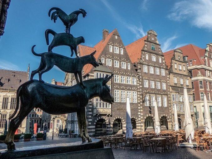 Bremen Town Musicians Statue Landmark