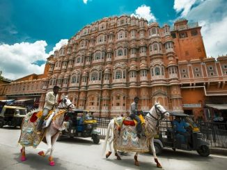 Hawa Mahal Road Jaipur India
