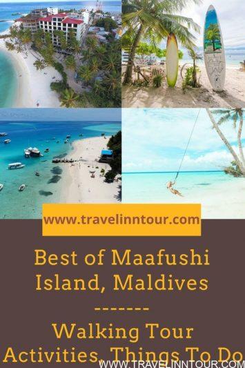 Maafushi Maldives Walking Tour
