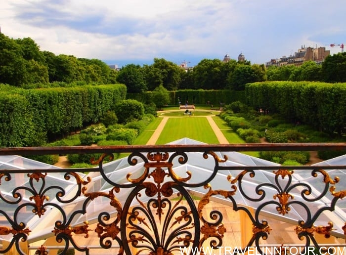 Beautiful gardens at the Rodin Museum 1