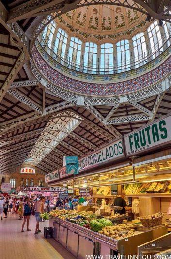 Central Market Valencia - weekend in valencia