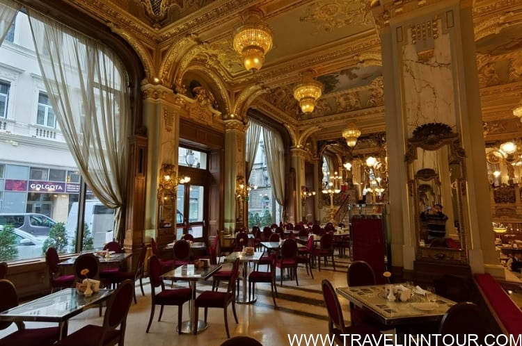 Cafe in Budapest