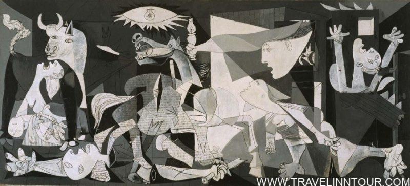 Guernica Picasso Madrid Museo Nacional Centro de Arte Reina Sofia