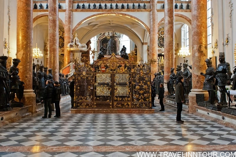 Maximilians Cenotaph and the Black Men