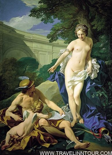 Royal Academy of Fine Arts Venus Mercurio y el Amor Louis Michel van Loo 1748