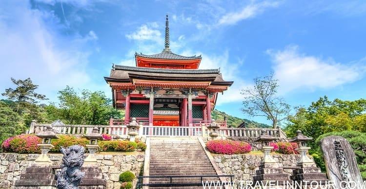 Senso Ji Kyoto Japan Temple Japanese Landmark