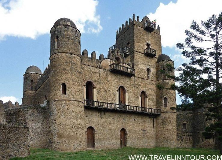 Fasilides Palace in the Fasil Ghebbi Gondar