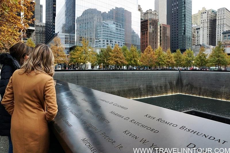 Graund zero memorial in New York. Ground zero - 2 Day New York Itinerary