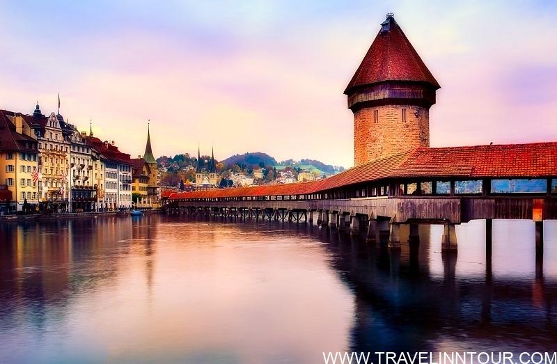 Kapellbrucke Bridge Lucerne