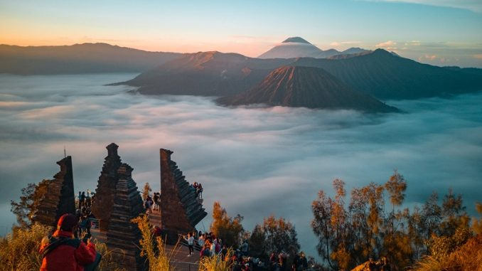best Indonesia tourist places to visit. Mount Bromo Indonesia