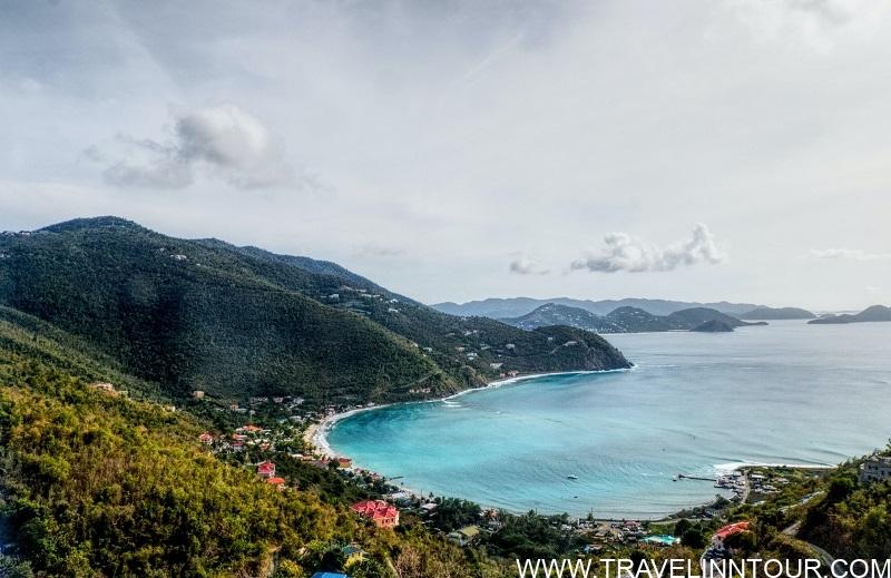 Cane Garden Bay view British Virgin Islands