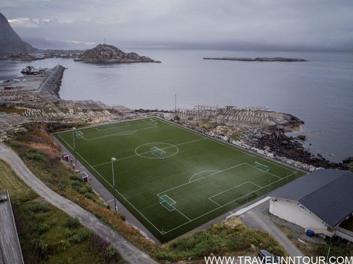 Henningsvaer Islands Lofoten Stadium