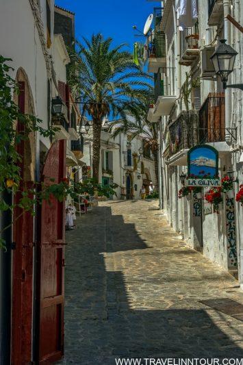 Ibiza Old Town Street