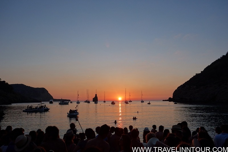 Sunset at Cala Benirras Ibiza