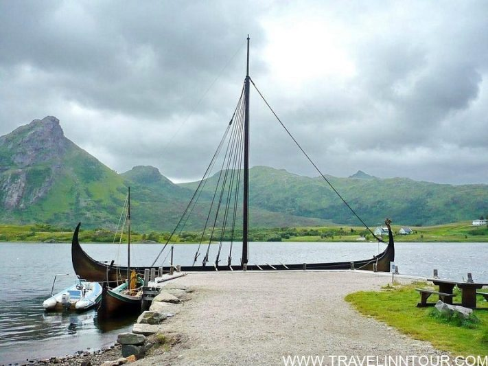View from Lofotr Viking Museum