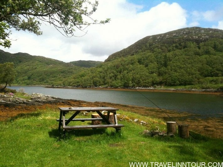 eilean shona Remote Scottish Island Holidays