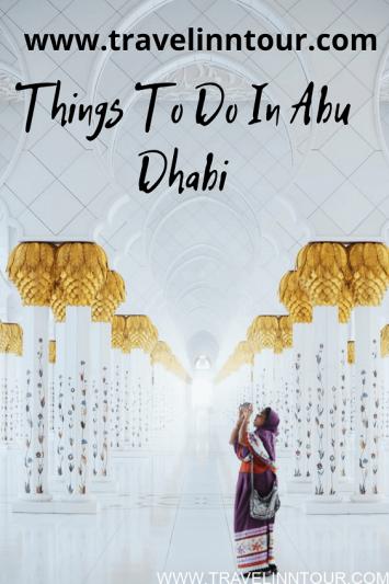 Fun Things To Do In Abu Dhabi 1