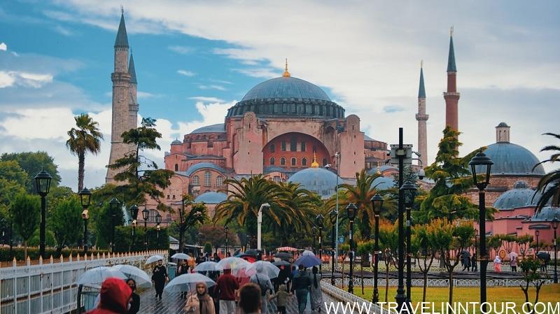 The Hagia Sophia Grand Mosque Famous Landmarks of Istanbul