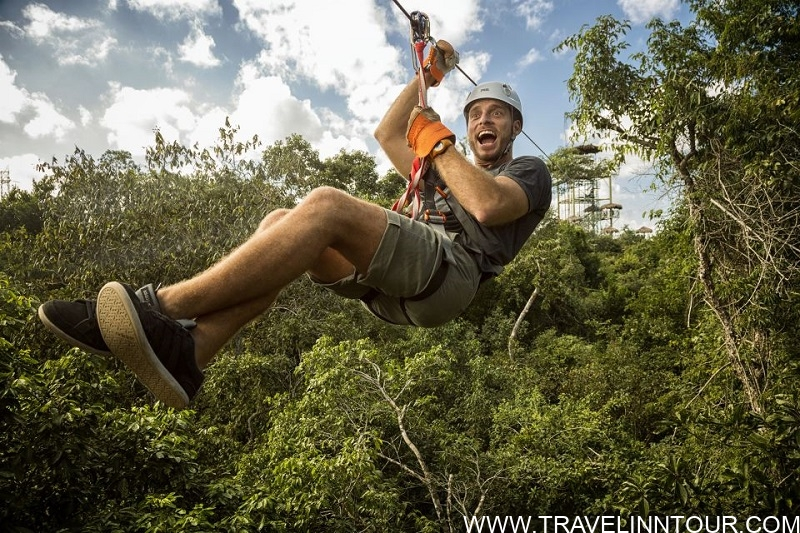 Zip lining Canopy And Tree Canopy Tours - things to do in Riviera Maya