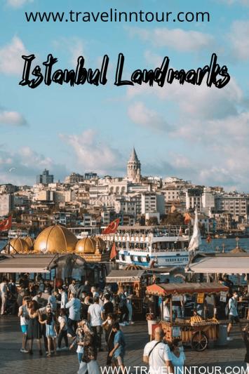 landmarks of istanbul