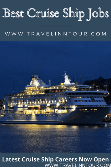 Available Positions for Cruise Ship Jobs
