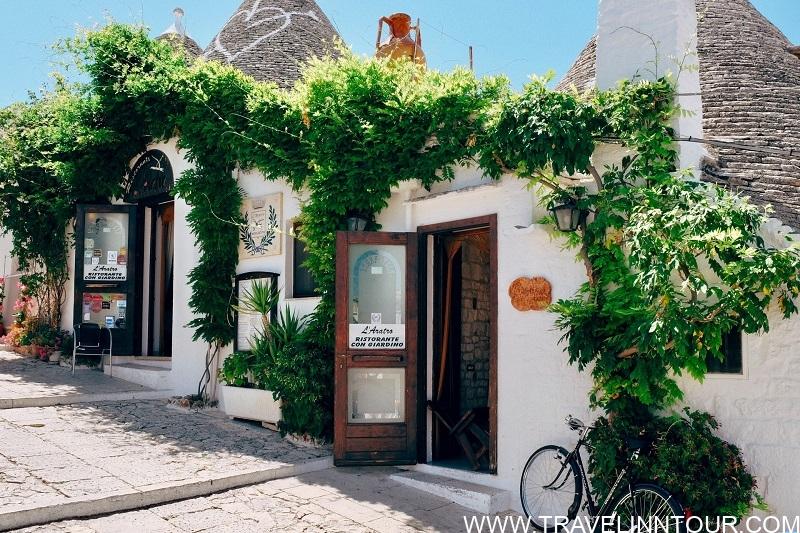 Alberobello charming italian village